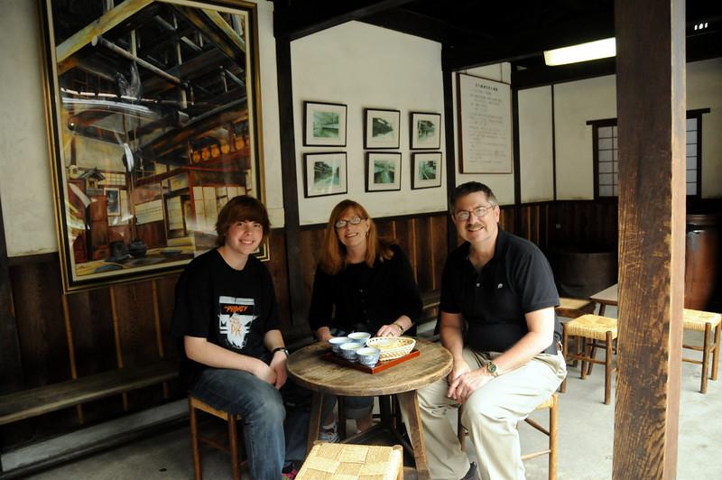 Afternoon tea in Takayama