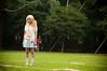 "A ""Shibuya Girl"" stands in a field in Yoyogi Park in Tokyo, Japan."