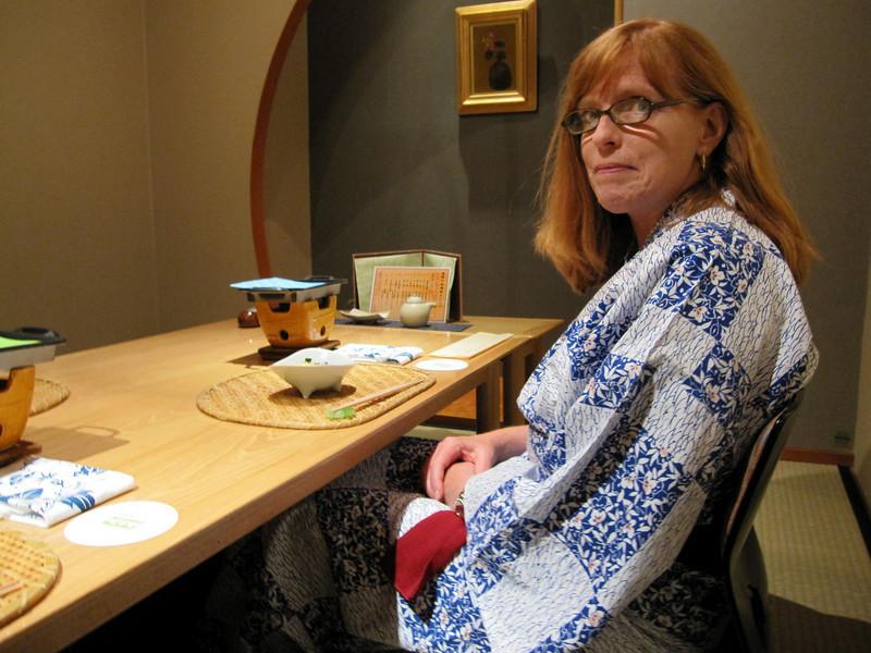 Takayama - dinner at Ryokan