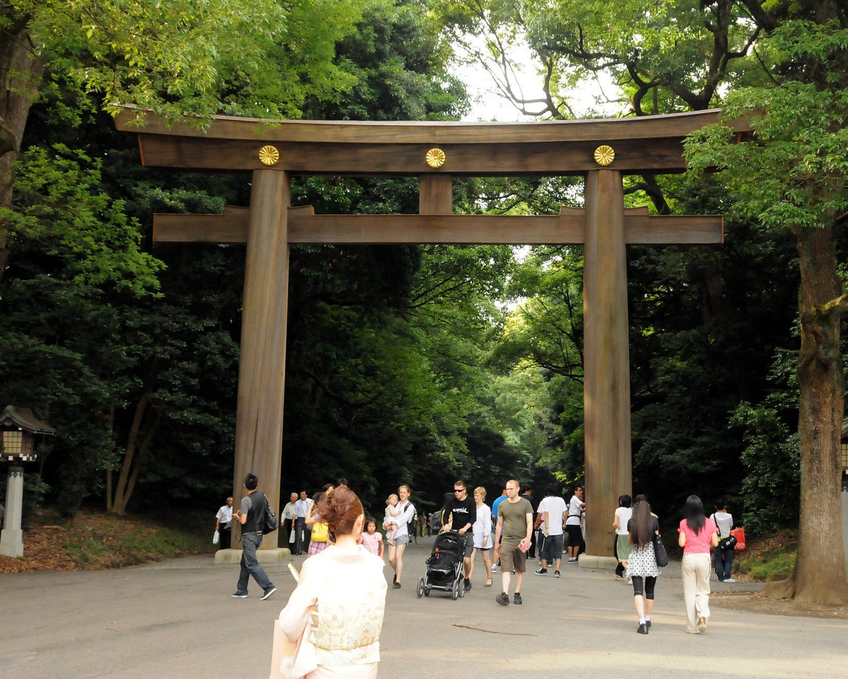 Meiji Shinto shrine