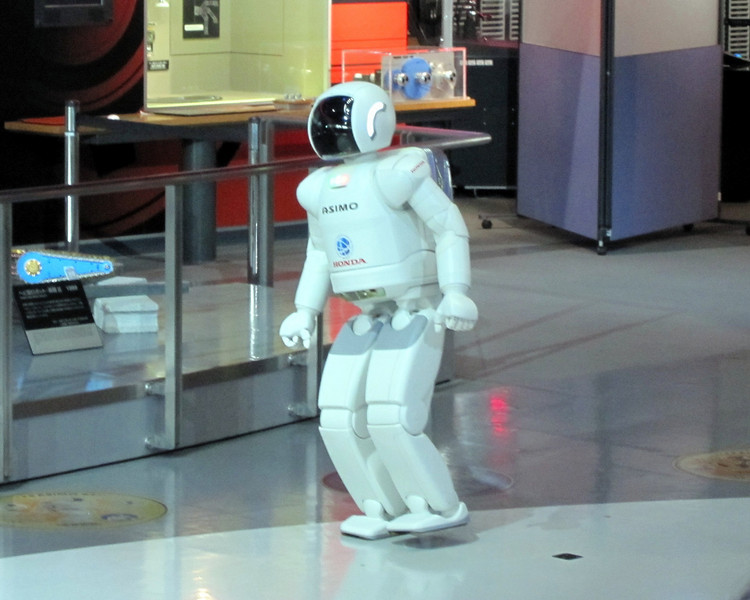 Asimo robot at Tokyo National Museum of Emerging Science and Innovation