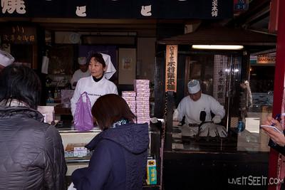 Nakamise - a shopping market in Asakusa