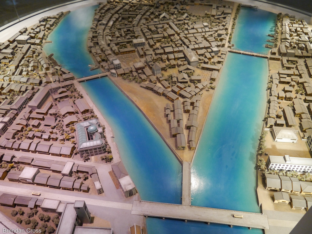 City Model, Hiroshima Peace Memorial Museum