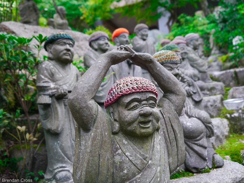 Buddhist Statues on the way to Daisho-in