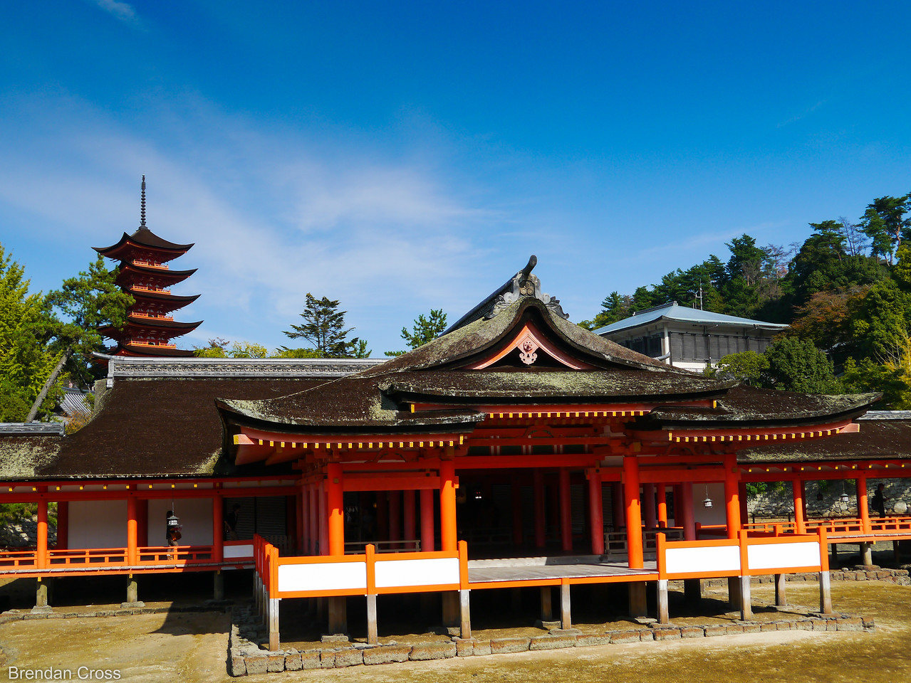 Itsukushima Shrine and Pagoda