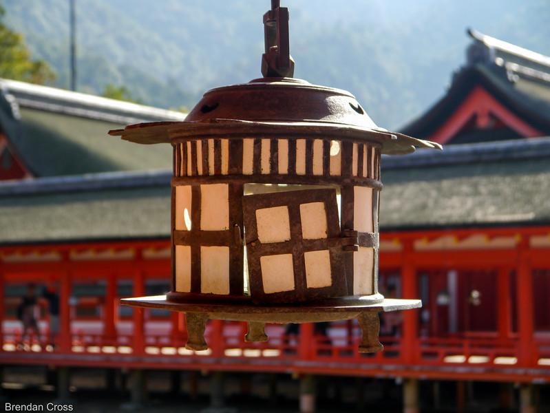 Lantern, Itsukushima Shrine