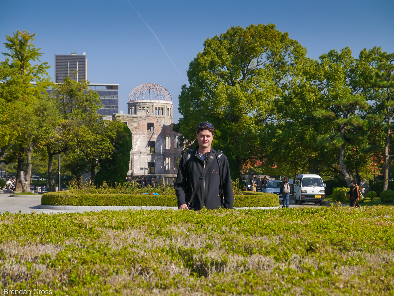 Jabroni and Genbaku Dome, Hiroshima Peace Memorial Park