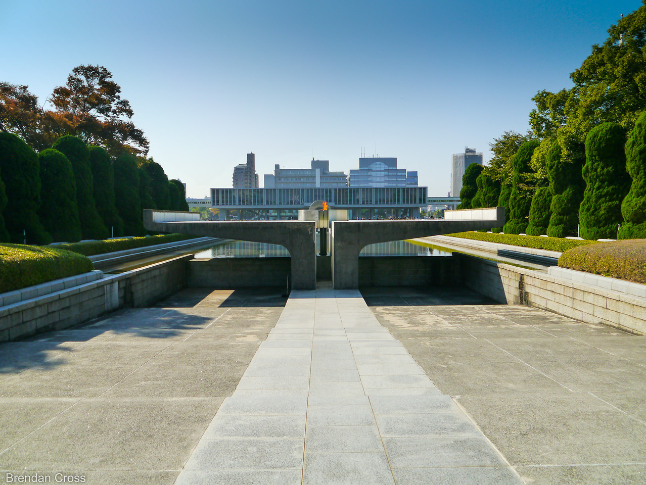 Peace Flame, Hiroshima Peace Memorial Park