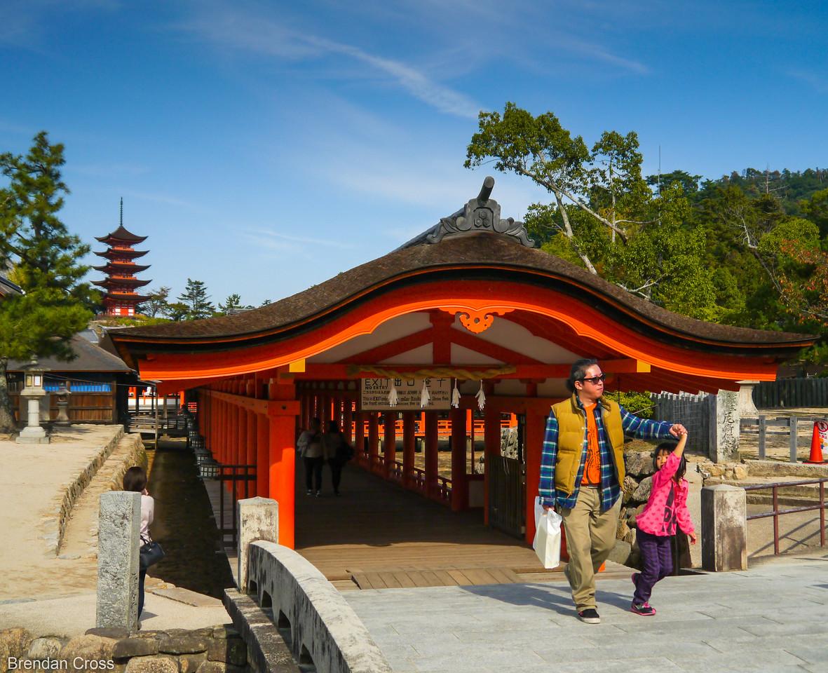 Hallway at Itsukushima
