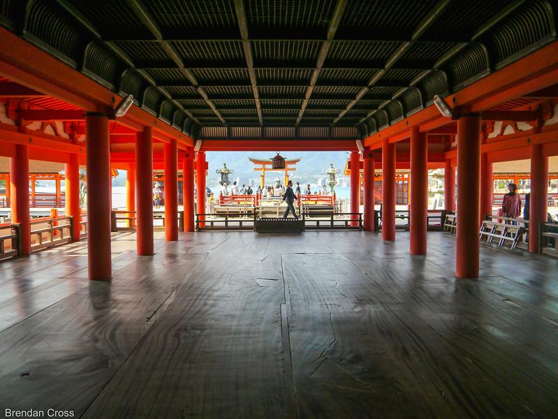 Itsukushima Shrine and Floating Torri Gate