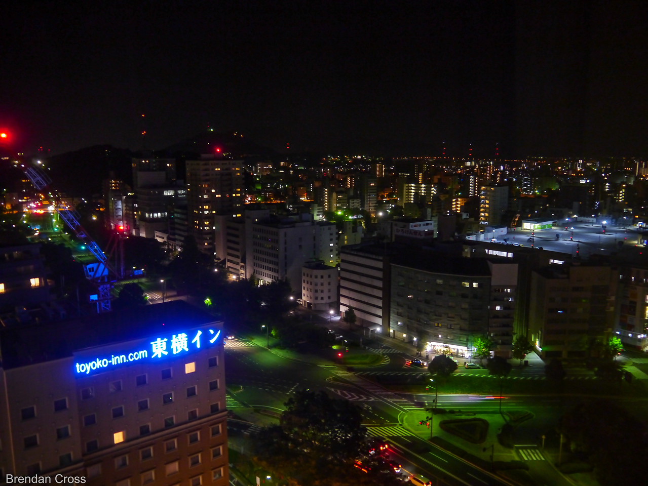 View from the Oriental Hotel Hiroshima