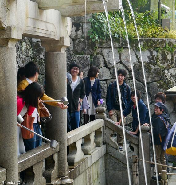 Sound of Feathers Waterfall, Kiyomizu-dera