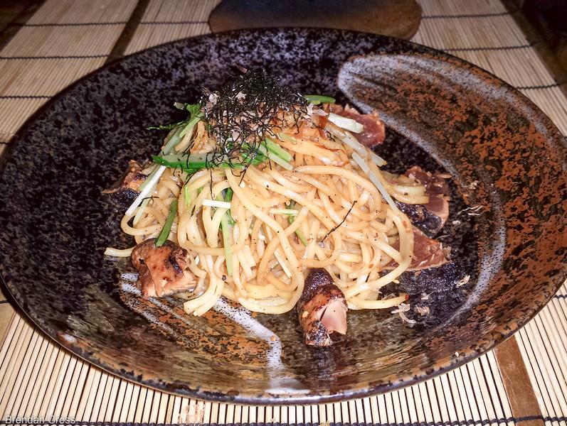 Noodle Dish, Samurai Cafe