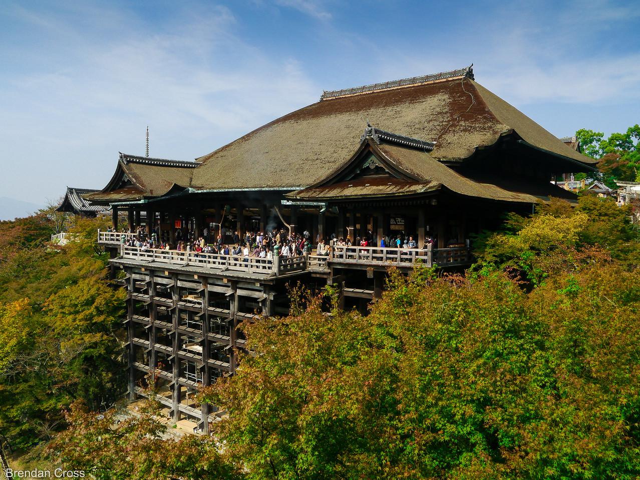 Main Hall, Kiyomizu-dera