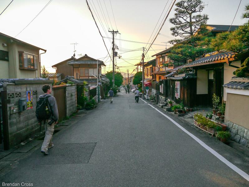A Random Sidestreet in Kyoto