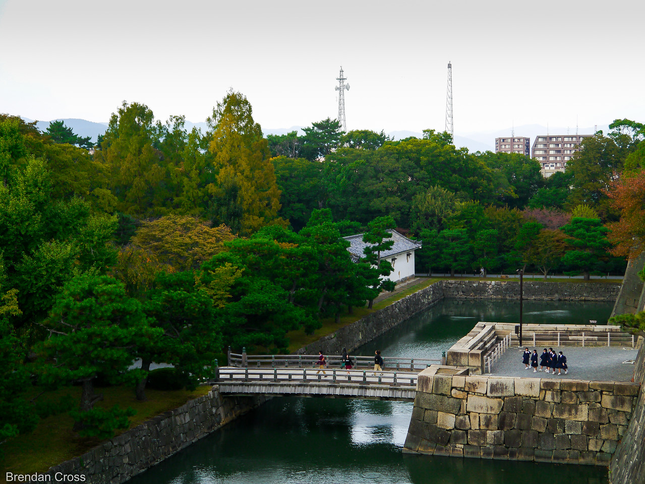 Moat & Bridge, Nijo-jo