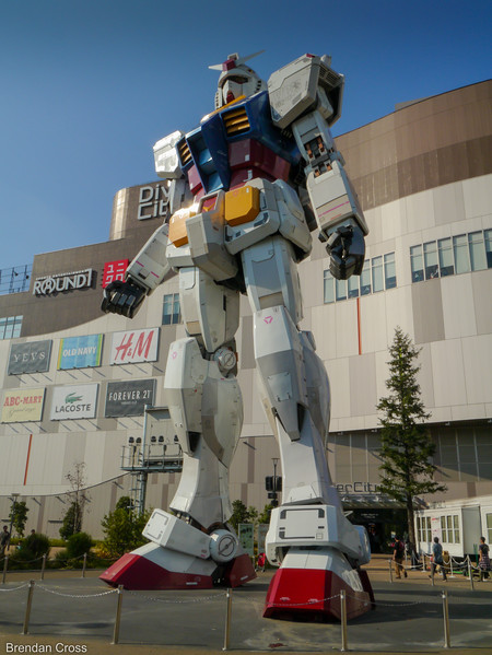 RX-78-2 Replica, Diver City