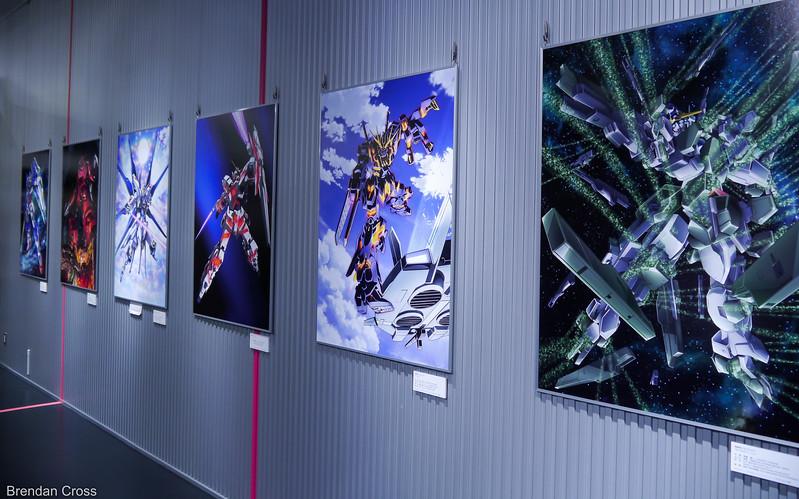 Artwork, Gundam Front Tokyo