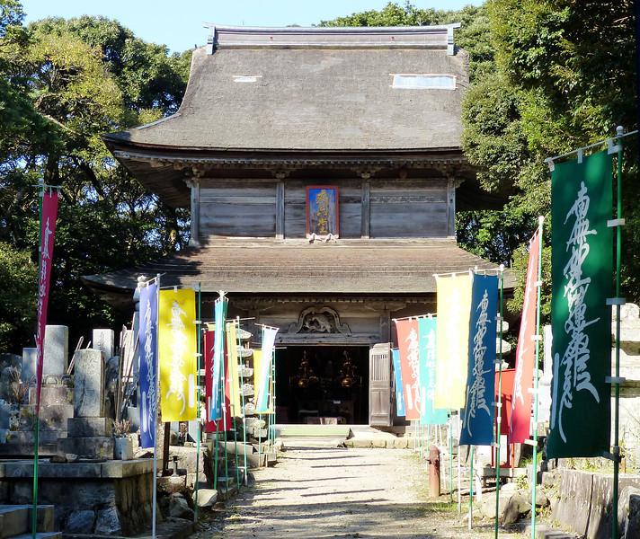 Building at Myojo-ji, Noto Peninsula