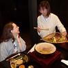 Veggies ready to be cooked for Jeane at dinner, Beniya Mukayu, Yamashiro Onsen