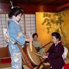 Geisa performance, Kikunoya, Kanazawa