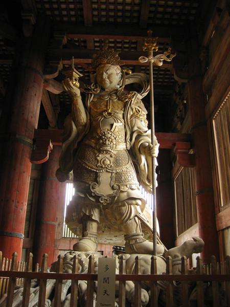 Day 3: Nara - the other guardian at Tōdai-ji.