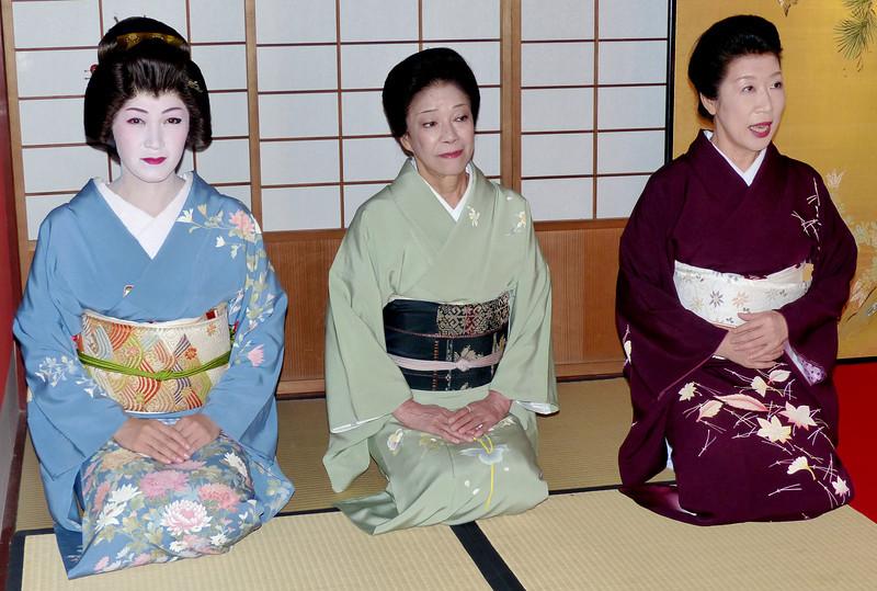 Geisha performance at Kikunoya, Kanazawa