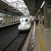 "Day 4: Kyoto - oh no, not more trains! Yes, more trains. Get used to it. We told you this place was full of them. And besides, this one is special. This is the very first Shinkansen that Timmy got to ride.<br /> <br /> In case you don't know, ""Shinkansen"" literally means ""new trunk line"", and refers to a new high-speed train line that the Japanese built between Tokyo and Osaka just in time for the 1964 Tokyo Olympics. Up until that time, much of the world thought Japan was still sifting through the rubble left by World War II. But when they turned on their TVs to watch the Olympics, and saw images of these ""bullet trains"" (the first Shinkansen models were shaped like bullets) zipping past Mt. Fuji, everyone realized the phoenix had arisen from the ashes."