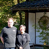 Ben and Chikako, owners of Flatt's-by-the-Sea on the Noto Peninsula