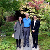 Craig and Jeane with Kazunari Nakamichi, owner of Beniya Mukayu