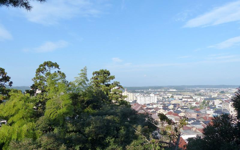 View of Kaga from our deck at Beniya Mukayu, Yamashiro Onsen