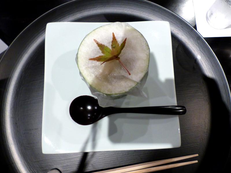 Dinner course at Beniya Mukayu, Yamashiro Onsen