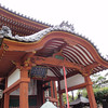 Day 3: Nara - some of the temples in Japan--unlike those in China or Korea--feature curved arches over the entrances.