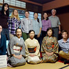 Craig and Jeane after tea ceremony with Russian students and Japanese women