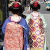 "Tourist ""gieshas"", Kyoto"