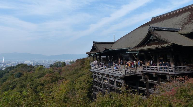 Building at Kiyomizu-Dera, Kyoto