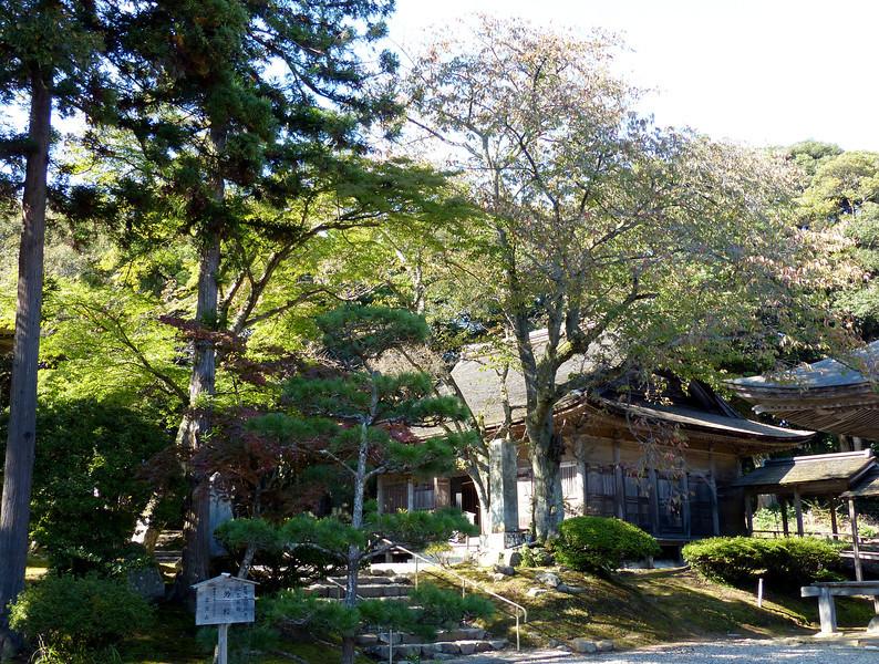 Temple complex, Myojo-ji, Noto Peninsula