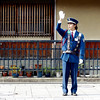 Traffic officer, Kyoto