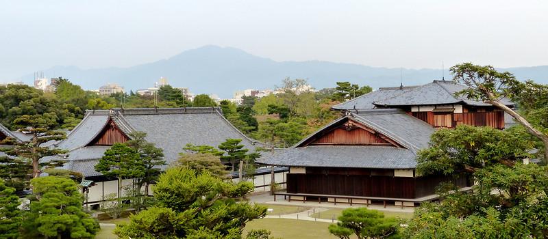 Buildings at Nijo Castle complex, Kyoto