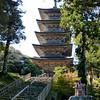 Five-story pagoda, Myojo-ji (temple), Noto Peninsula