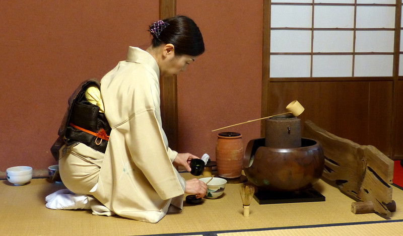 Tea ceremony ritual