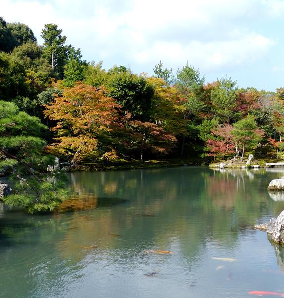 Gardens, Tenryu-ji (Zen temple), Arashiyama, Kyoto