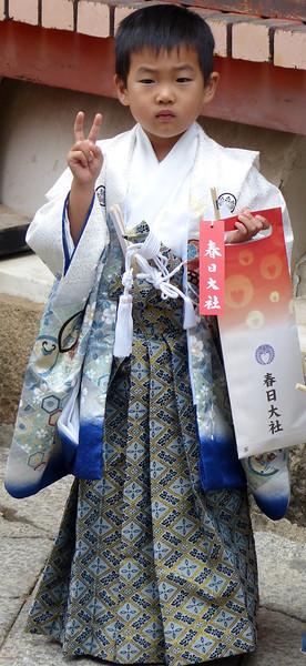 Young boy, Kasuga Taisha Shrine, Nara
