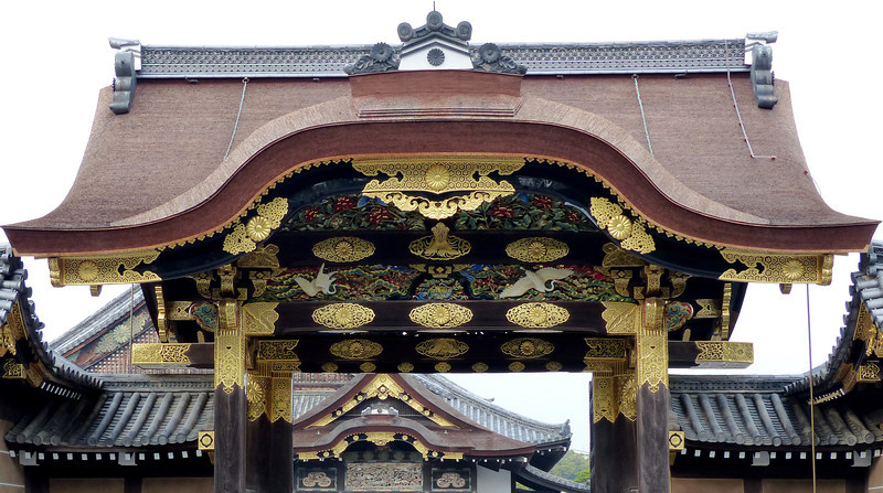 Karamon Gate, Nijo Castle, Kyoto