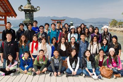 Japan 2014 - 'Iolani Japanese Language Students