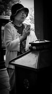 The Praying Woman in Nara