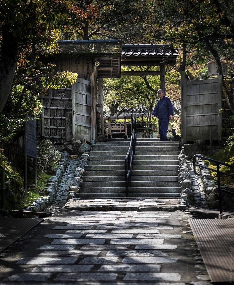 The Monk at the Nenbutsuji Shrine