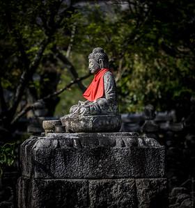 AdashinoNenbutsuji Cemetry , Arashiyama, Kyoto , Japan