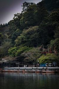 Arashiyama River Boats