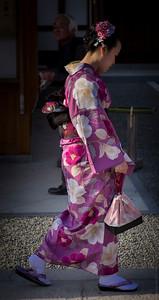 The Purple Kimono...